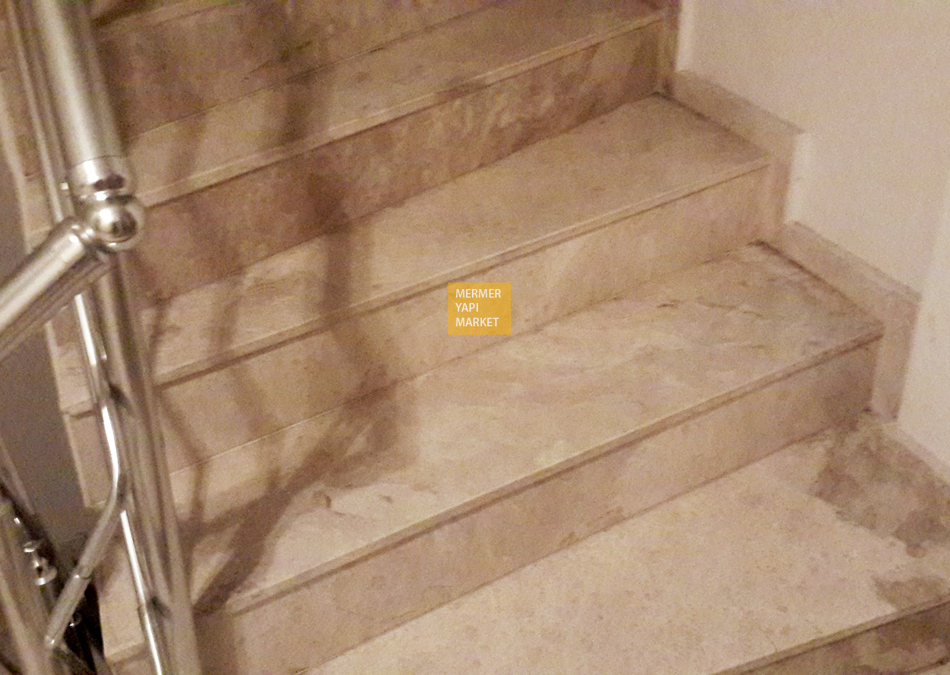 Akhisar Beige Staircase - Step Included