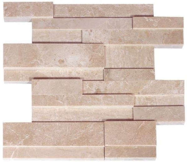 Lime Beige Marble Three Dimensional Panel