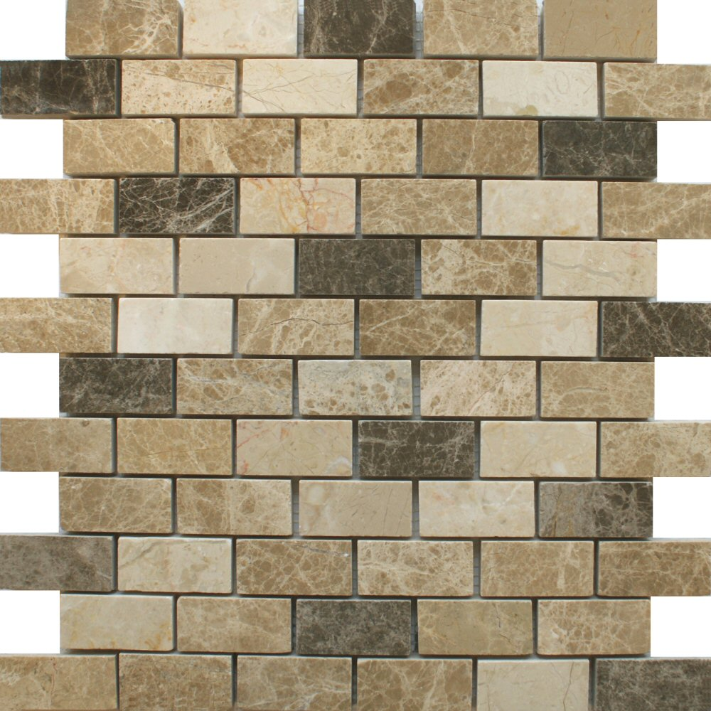 Dark - Light Emperador - Beige - Mix Mosaic