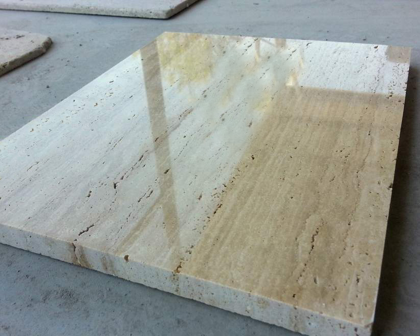 Polished Travertine - Unfilled