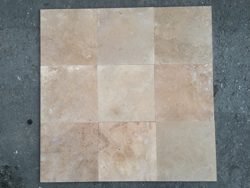 Nuance Travertine Filled Honed