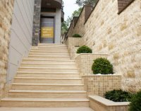 Classic Travertine Stair - Riser Included
